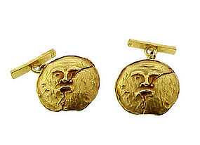Nino D'Antonio Germano 18K Gold Antiquity Cufflinks
