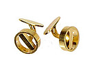 Georg Jensen 18K Yellow Gold Cufflinks