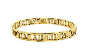 Tiffany & Co. 18K Yellow Gold ATLAS Bracelet