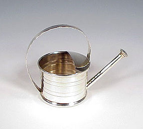 Cartier Sterling Silver Watering Can Vermouth Sprinkler