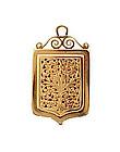 French Victorian 18K Gold Vinaigrette Locket