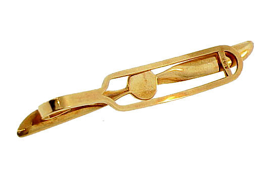 1940�s 14K Gold Airplane Propeller Tie Bar