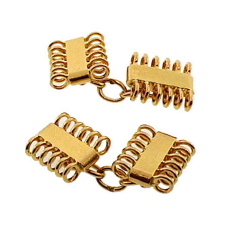 French Retro 18K Yellow Gold Cufflinks
