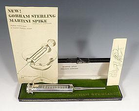 Vintage Gorham Sterling Silver Martini Vermouth Syringe