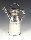 Reed & Barton Silverplate Milk Can Cocktail Shaker