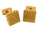 Tiffany & Co. France 18K Gold Cufflinks