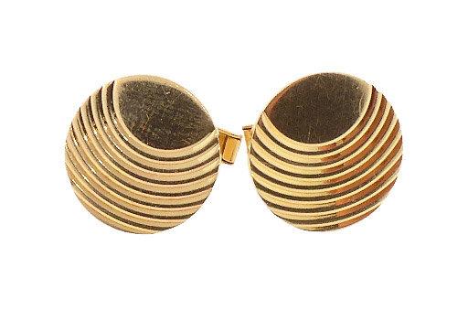 Art Deco 14K Gold Cufflinks