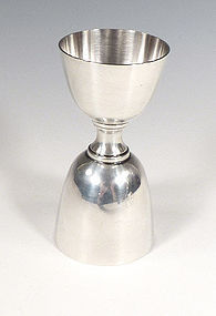 Sterling Silver Double Jigger