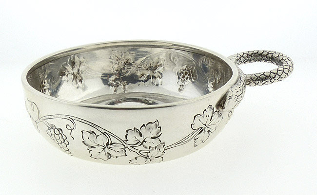 19th Century French First Standard Silver Tastevin
