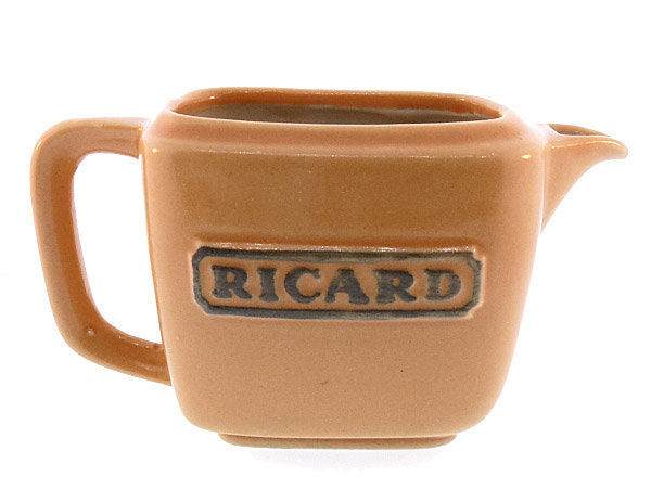 French Mid-Century Porcelain Miniature Ricard Water Jug