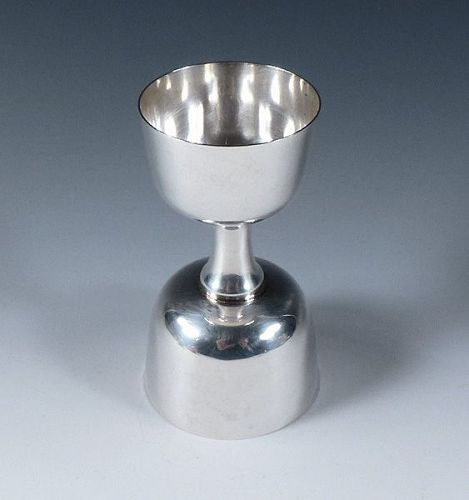 Art Deco Baldwin & Miller Sterling Silver Double Jigger