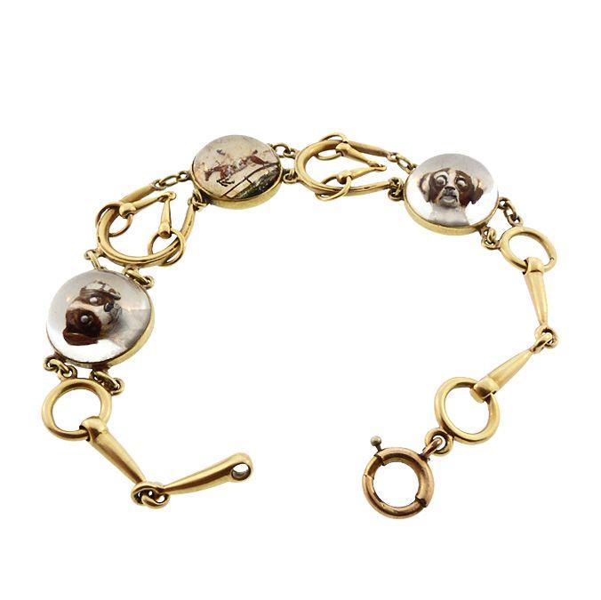 Tiffany Co 14k Gold Es Crystal
