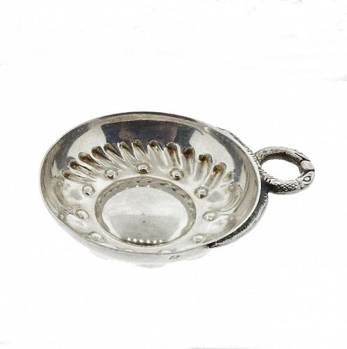 Silverplated French Burgundy Wine Taster Tastevin