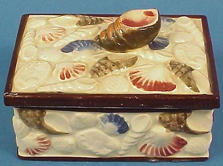 Occupied Japan Sardine Box