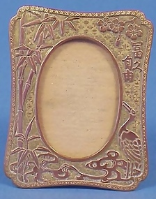Mixed Metal Arts & Crafts Picture Frame