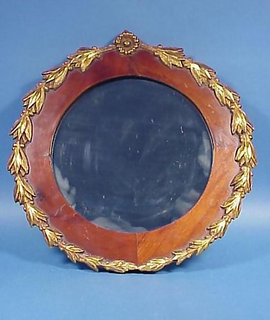 American Late Classical Gilt Mahogany Mirror