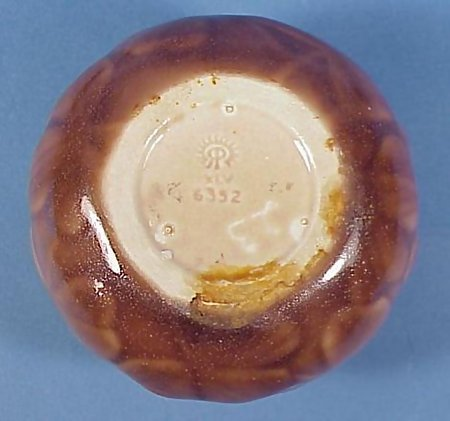 """1945 Rookwood Pottery Vase """"Clover"""" Design"""