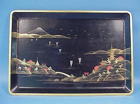Japanese Lacquerware Cocktail Shaker Set