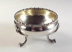 Goodnow & Jenks Victorian Sterling Silver Master Salt
