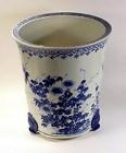 Rare Chinese Export Porcelain Canton Garden Jardiniere