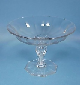 19th Century Anglo-Irish Cut Glass Compote