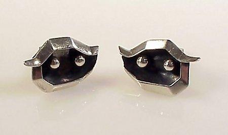 Miguel Melendez Mexican Silver Cufflinks