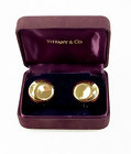 "Elsa Peretti Tiffany & Co. 18K Gold ""Round"" Earrings"
