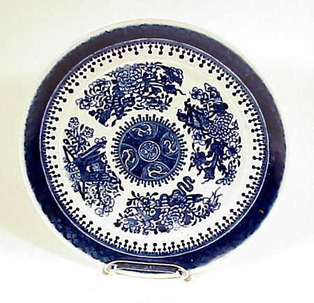Fitzhugh Chinese Export Porcelain Plate