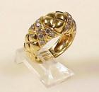 Boucheron 18K Gold & Diamond Ring