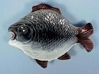 Victorian American Majolica Figural Fish Dish