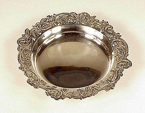 Victorian Gorham Sterling Silver Wine Coaster