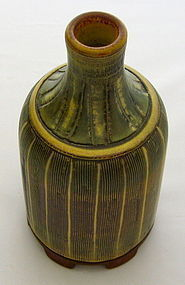SUPERB FASTA BOTTLE VASE FOR GUSTAVSBERG 1959
