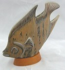 BEAUTIFUL FISH SCULPTURE BY GUNNAR NYLUND