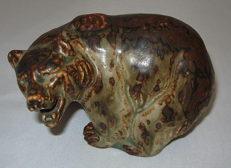 Royal Copenhagen Bear by Knud Kyhn