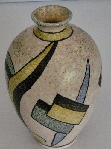 Stunning West German Vase