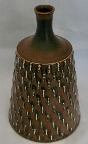 Exceptional Vase by Stig Lindberg for Gustavsberg 1961