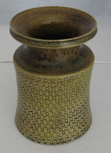 Impressive Stig Lindberg vase for Gustavsberg