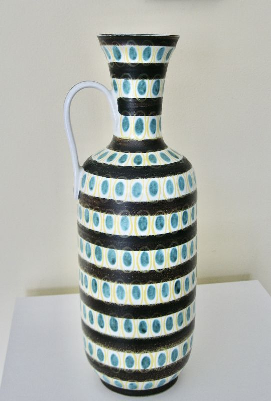 Monumental Faience Vase designed by Stig Lindberg
