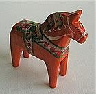 Miniature Hand Carved Dala Horse