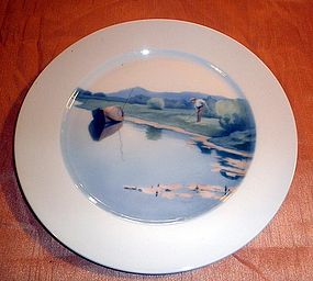 Wonderful Meissen Germany Art Nouveau plate