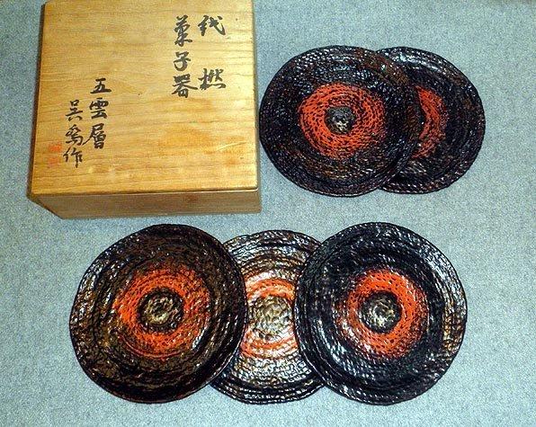 Japanese tea ceremony sweet set