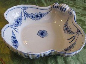 Denmark Copenhagen B&G blue and white plate