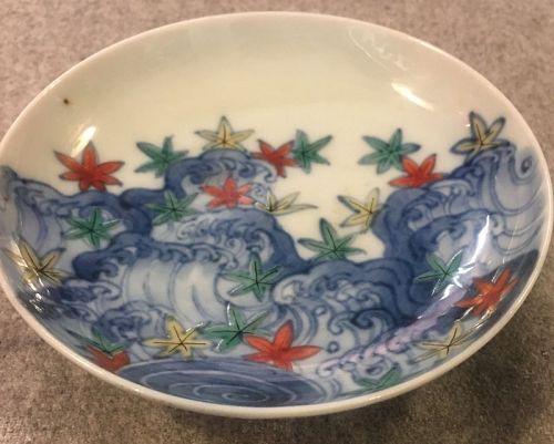 Japanese Nebeshima style plate