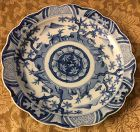 Nice detail Japanese Imari blue and white plate