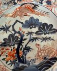 Rare Japanese ko Imari hand painted plate