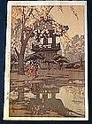 Japanese woodblock print by Yoshida