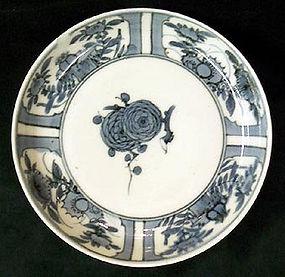 Japanese Ko imari plate