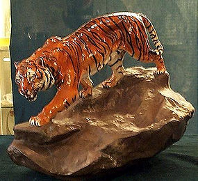 Large wonderful Royal Dulton Tiger figure