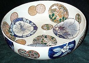 Lovely Japanese Imari bowl 19th century