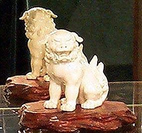 JApanese master Hirado,Kakiemon shi-shi lion